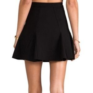 Parker Black Billie Skirt NWT
